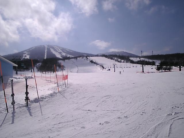スキー&スノボツアー、晴天で最高♪